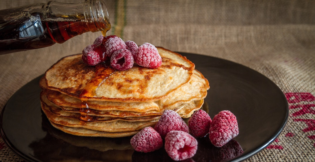 You can eat FREE pancakes at a boozy art show this April