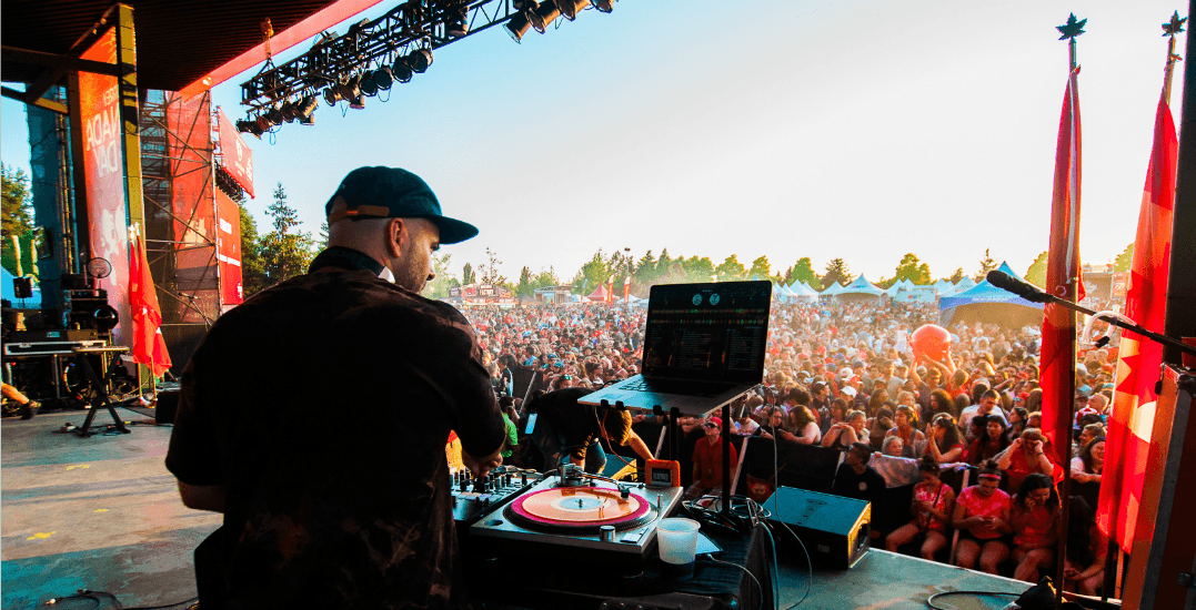 This massive Metro Vancouver Canada Day event has FREE concerts
