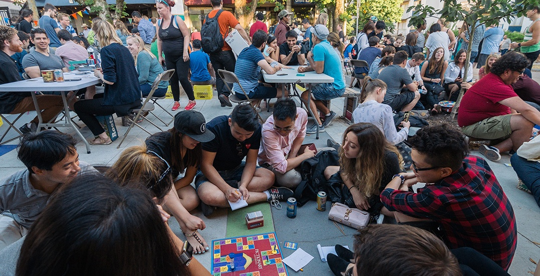 An outdoor games night is taking over Jim Deva Plaza this summer