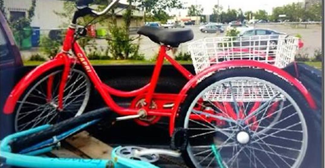 Calgary Police Service trying to track down stolen $800 tricycle