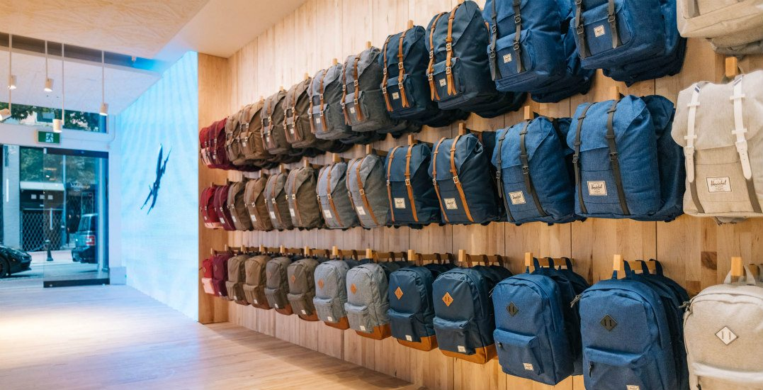 Gastown store displayherschel supply