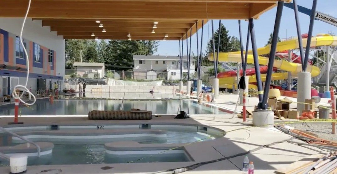 Metro Vancouver's newest water park to open on Canada Day long weekend (PHOTOS)