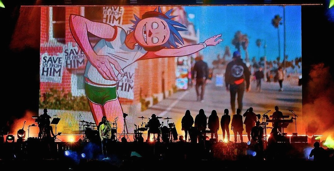 Gorillaz are coming to Montreal's Bell Centre this fall