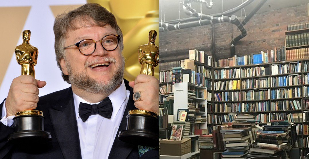 Famed director Guillermo del Toro proclaims his love for Vancouver bookstore