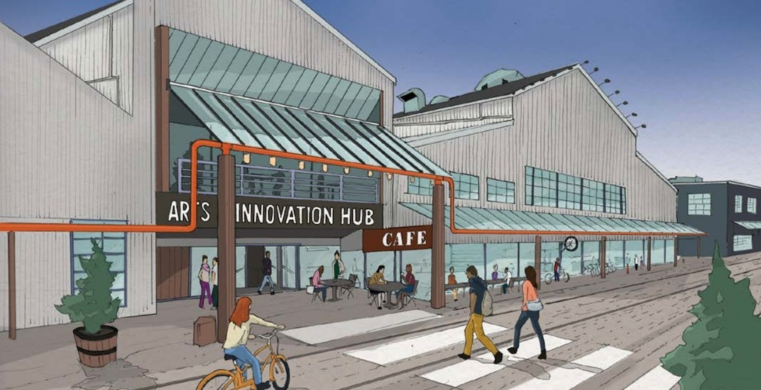 Granville island arts and innovation hub