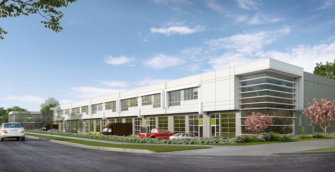 100,000-sq-ft industrial strata development coming to Brentwood area