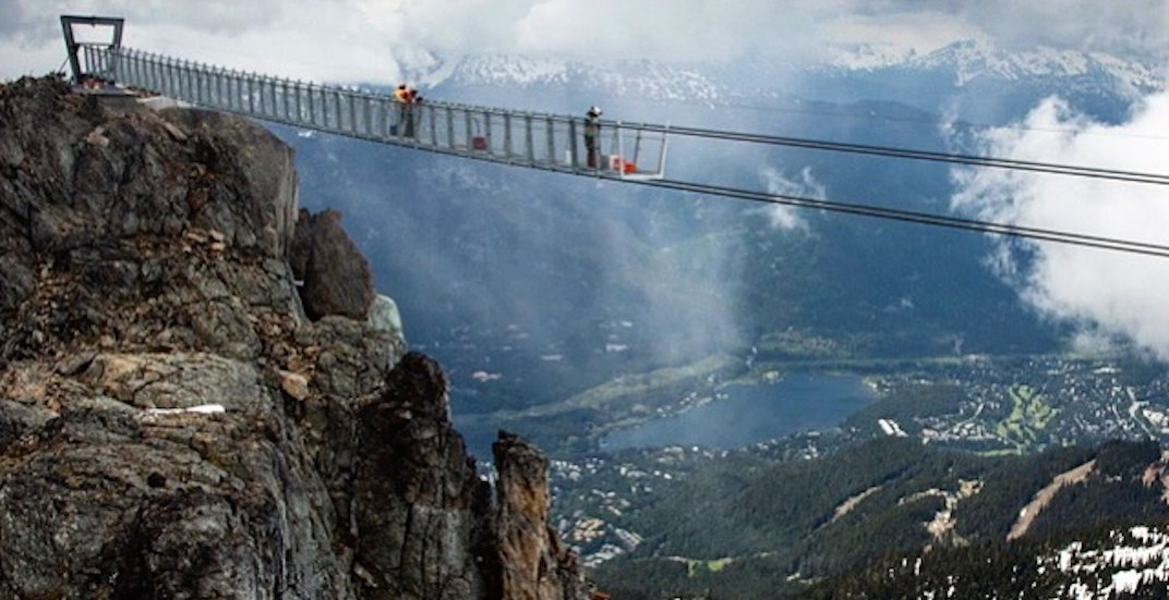 427-ft-long mountaintop suspension bridge at Whistler to open this summer