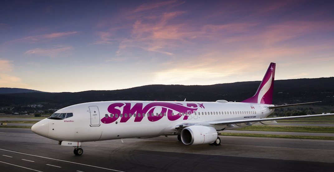 All of Swoop's low-cost flights are currently on sale