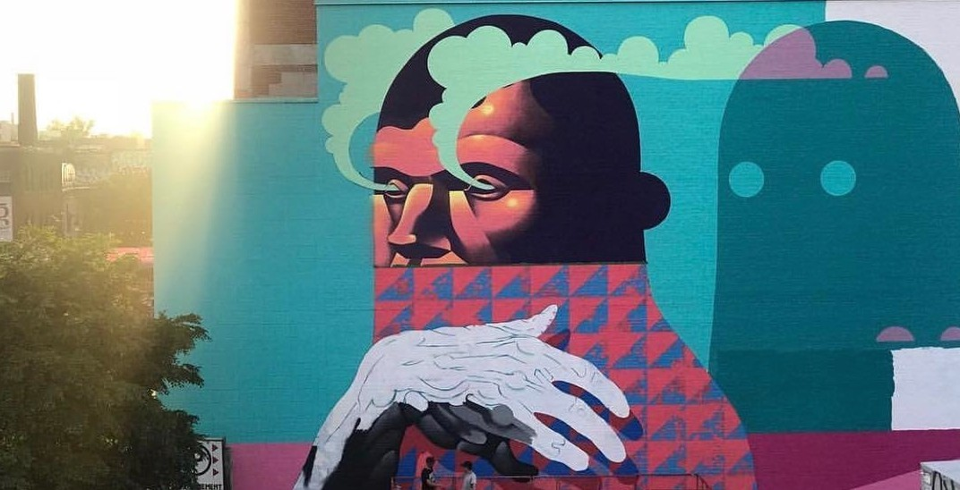 27 photos from the opening week of Mural Fest (PHOTOS)