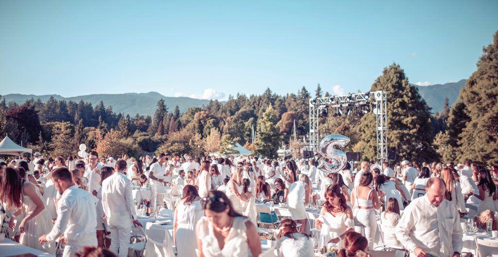 Diner En Blanc Vancouver 2018 contest