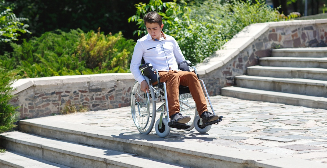 Wheelchair accessibility stairs disabled