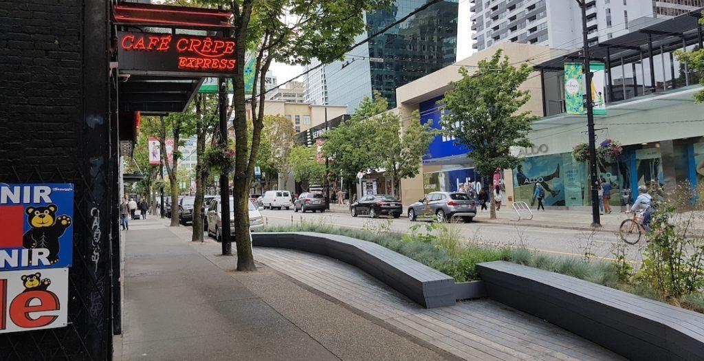 Cafe Crepe Robson Street Parklet