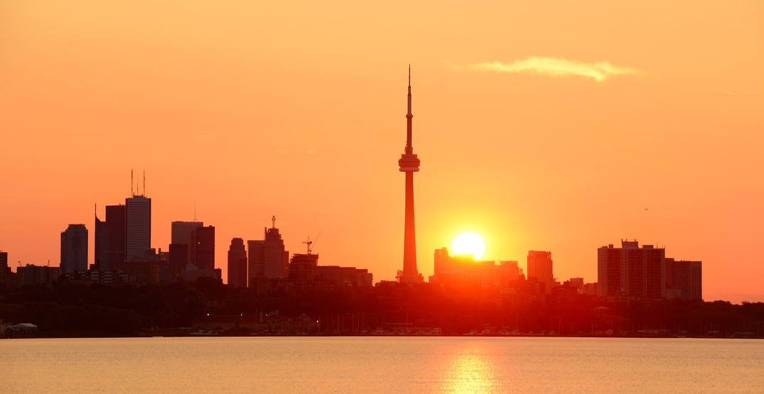 There's a heat warning in effect for Toronto today