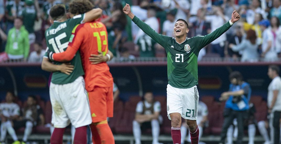 World Cup Report: Win against Germany causes artificial earthquake in Mexico City