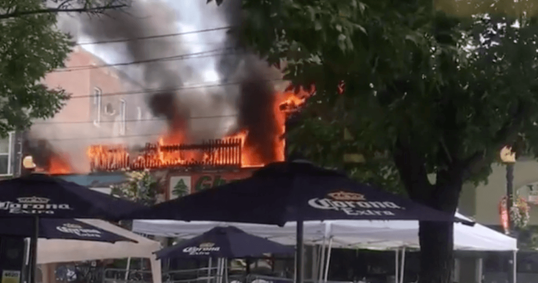 College Street restaurant fire disrupts Taste of Little Italy festival (PHOTOS)