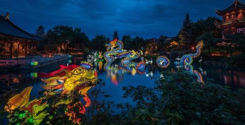 Light festival starts today
