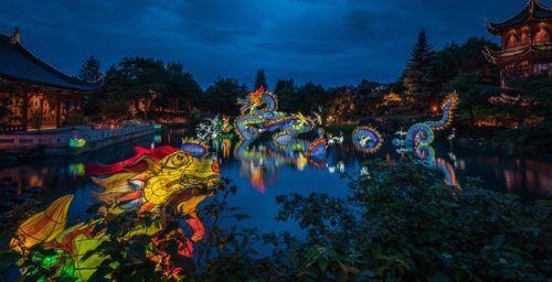 Light festival starts today