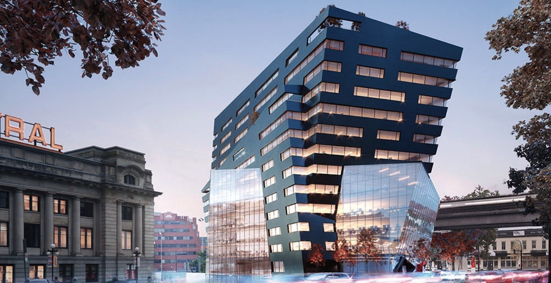 New crystal-shaped office tower coming next to Main Street-Science World Station