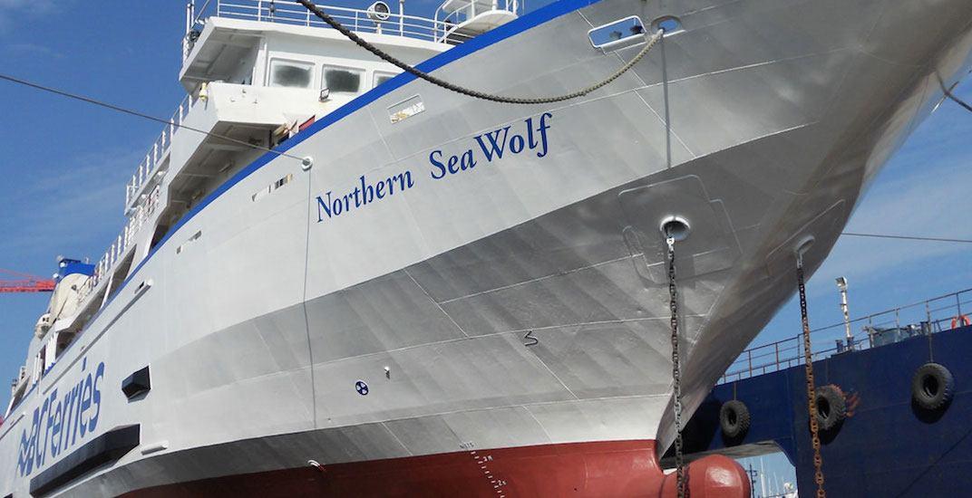 Bc ferries northern sea wolf f