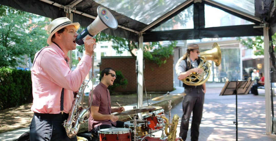 There's a free 5-day jazz festival happening in Yaletown