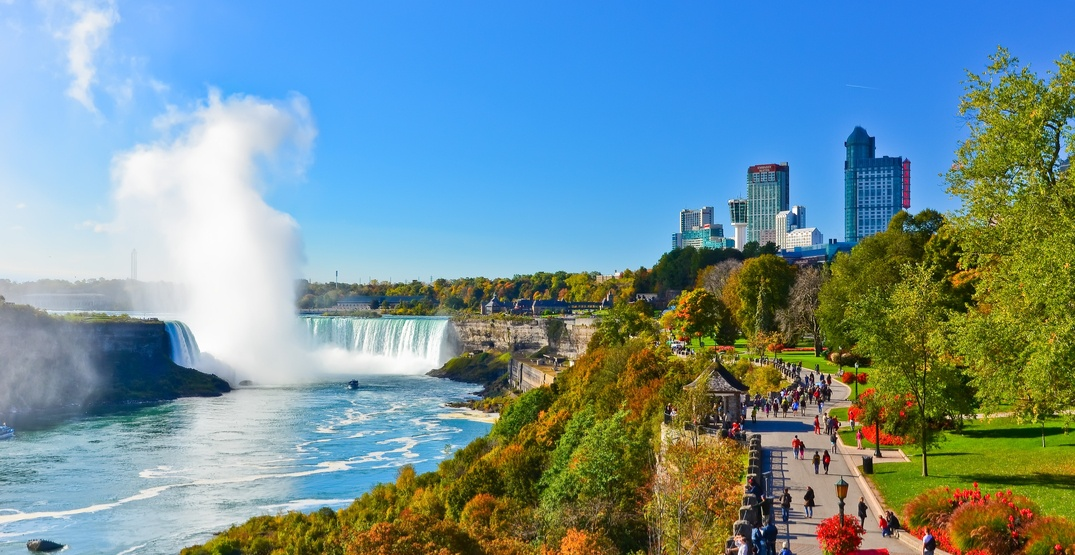 You can take the train from Toronto to Niagara Falls for just $18 right now