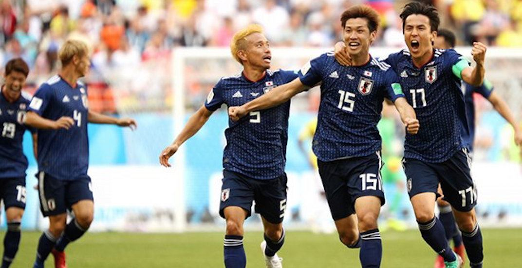 Japan win world cup 2018
