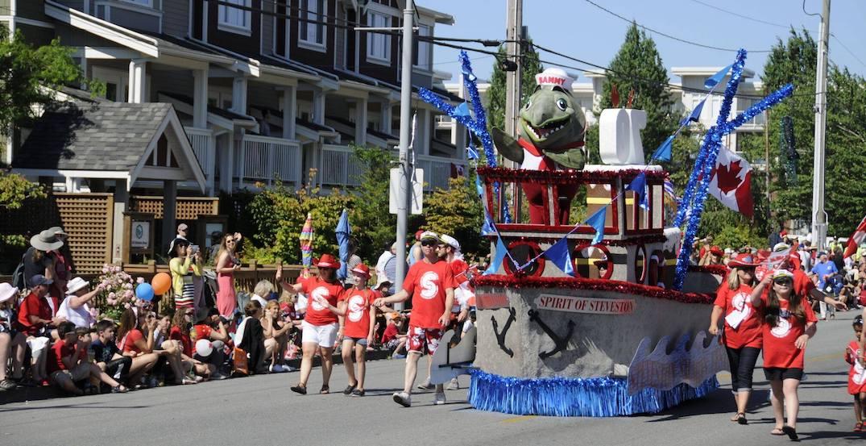 Celebrate Canada Day at the Steveston Salmon Festival