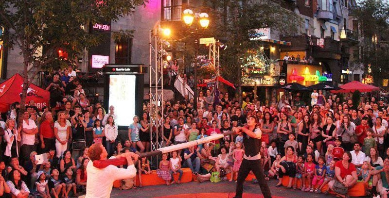 Montreal's Circus Festival returns to the Quartier des Spectacles next month