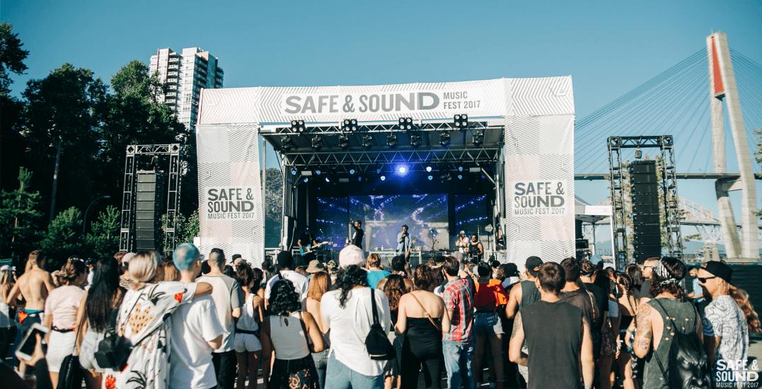 Safe & Sound Music Fest: Metro Vancouver's hottest summer music festival