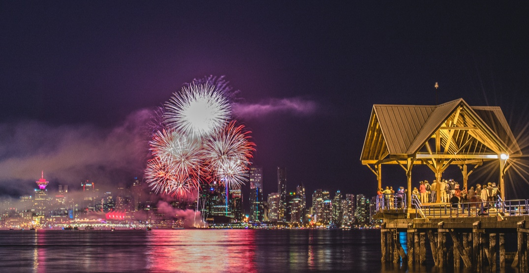 Canada Day fireworks to light up downtown Vancouver skies
