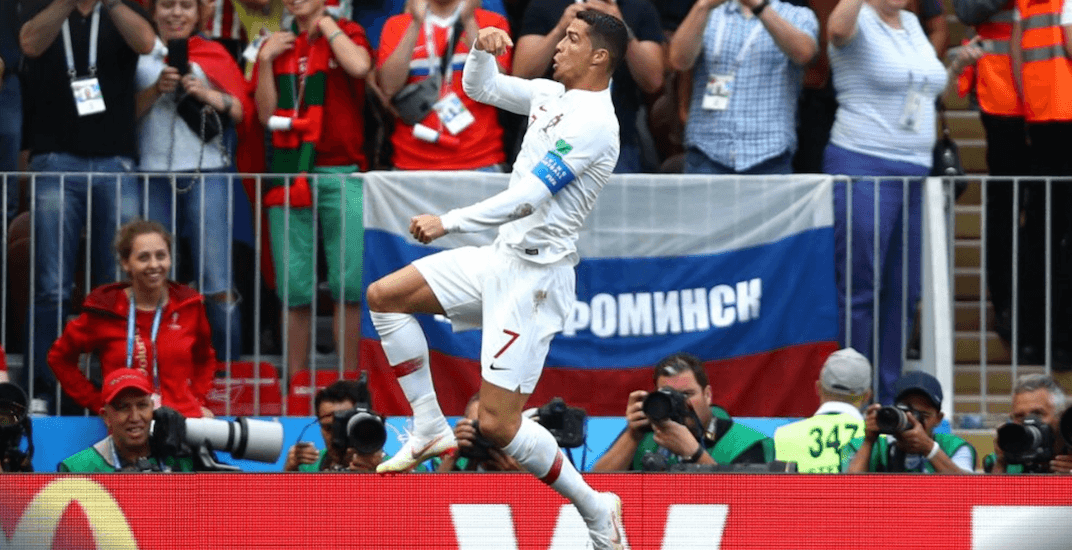 World Cup Report: Ronaldo puts Portugal on his back
