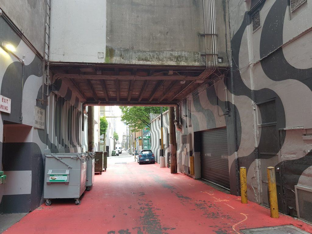 Ackery's Alley Granville Street Orpheum Theatre Laneway