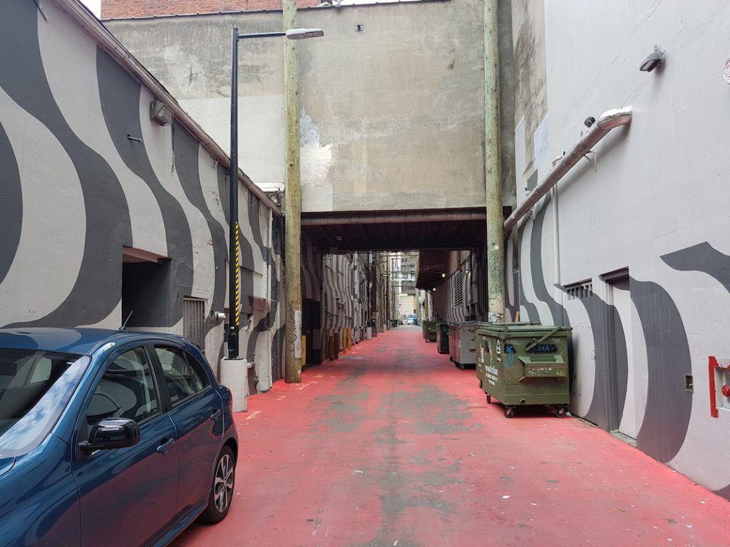 Ackery's Alley Granville Street Orpheum Theatre Laneway