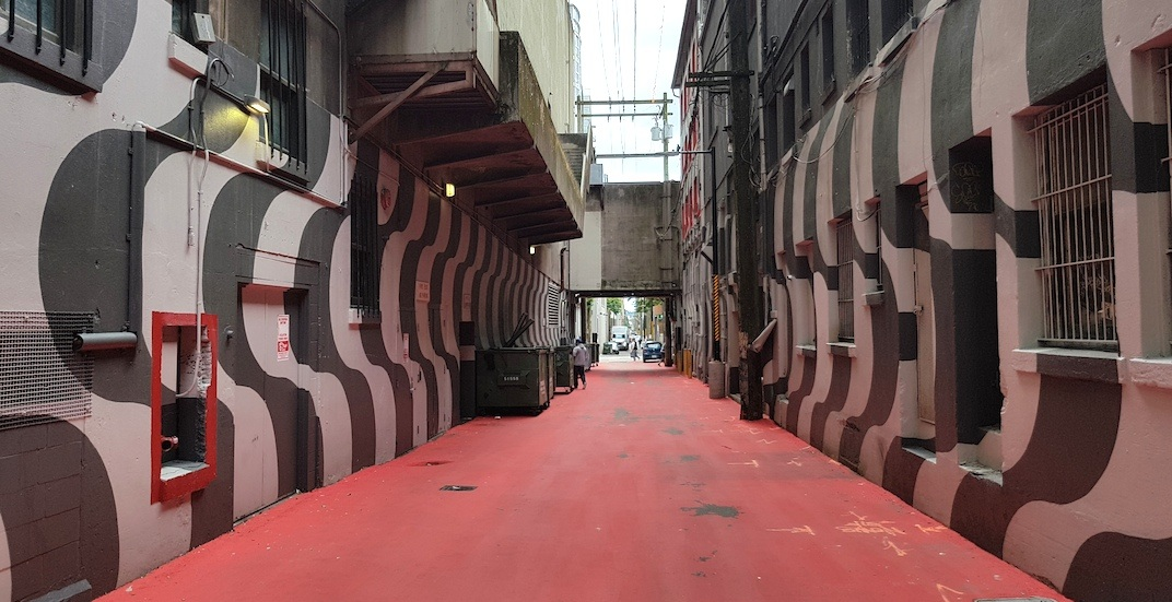 'Psychedelic' makeover for Orpheum Theatre laneway to be completed this summer (PHOTOS)