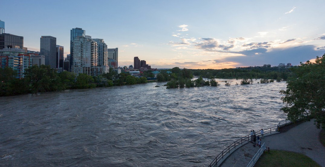 The city is getting prepared for flood season in Calgary