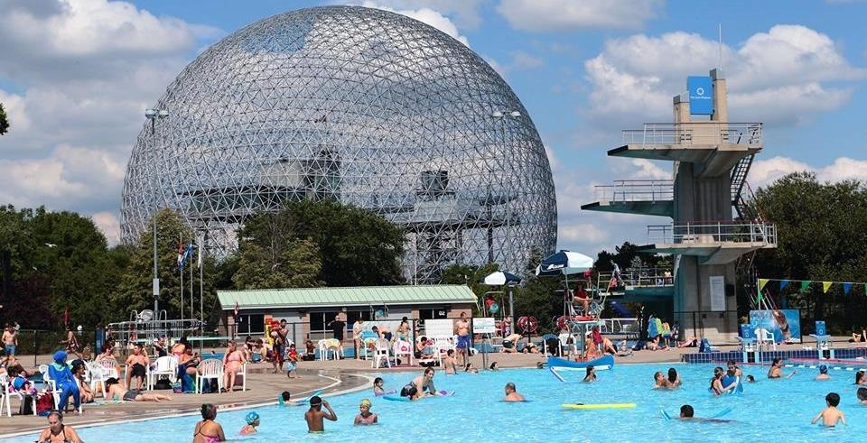 Parc Jean Drapeau's Aqua Complex is now open for the summer
