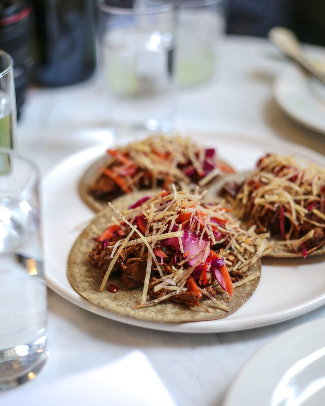 Rosalinda tacos vegan