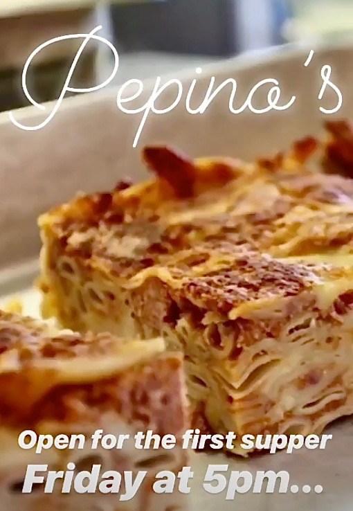 Pepino's is opening