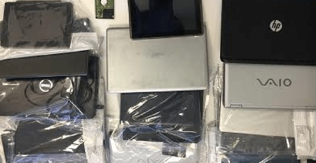 8 people arrested for fraud in Surrey after 'significant seizure' of items