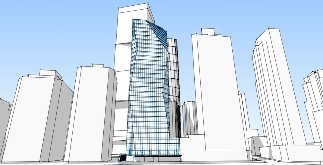 380-ft-tall office tower proposed to replace Vancouver's old Revenue Canada building