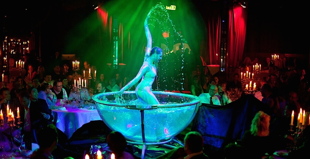 Gourmet cirque cabaret under 'antique magic mirror tent' coming to Vancouver