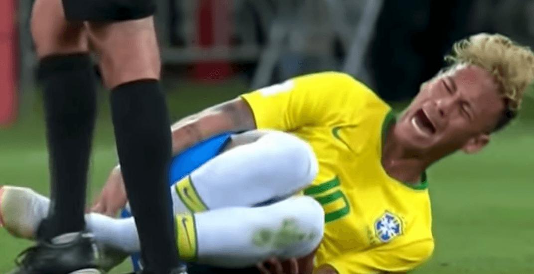 Brazil's Neymar inspires the world to make fun of his terrible acting skills (VIDEO)