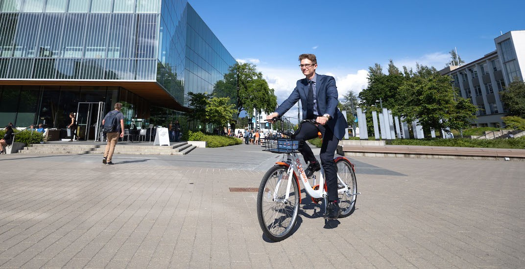 UBC's new bike share gaining popularity with rides starting at $1