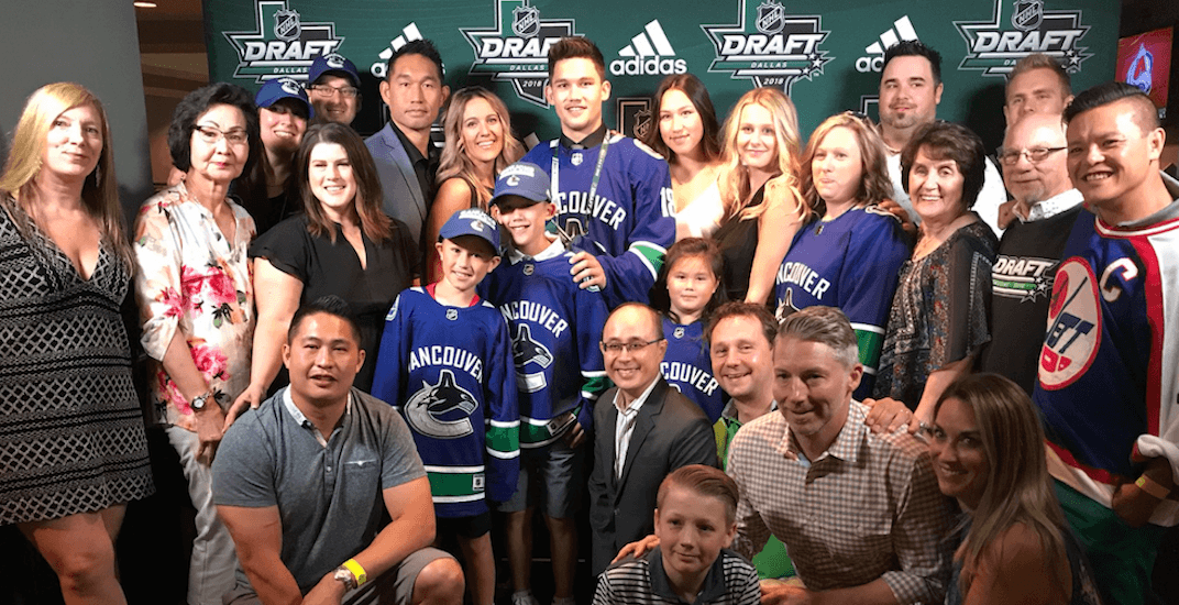 Canucks make a trade and select five players on Day 2 of NHL Draft