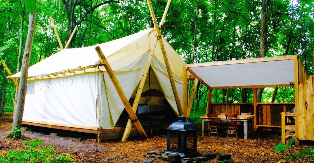This unbelievable glamping experience is just 2-hours from Toronto (PHOTOS)