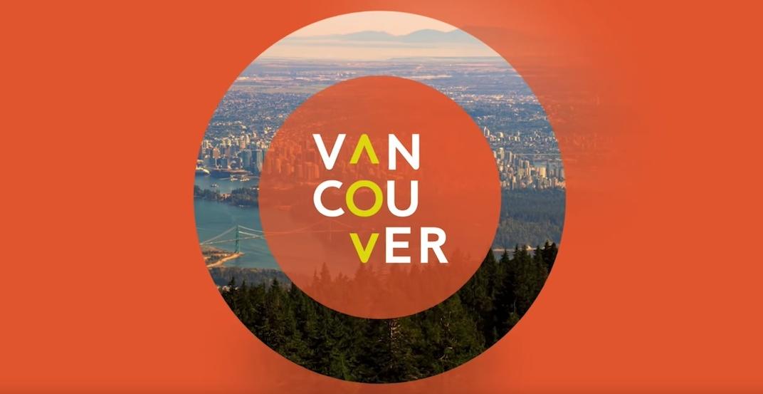 Tourism vancouver logo brand 2018