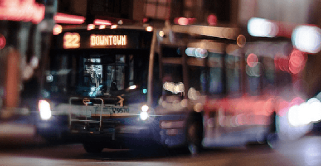 TransLink launches new late-night bus hub in downtown for partygoers