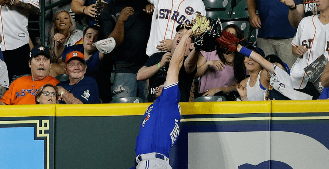 Randal Grichuk makes Blue Jays' catch of the year (VIDEO)