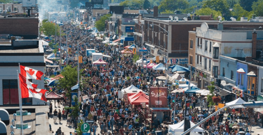 Taste of the Danforth is taking place in Toronto this weekend