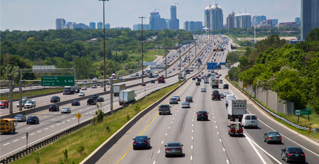 Toronto Board of Trade wants lanes built above or below the 401 to ease congestion